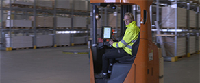 Raben group equips its drivers with rugged handhelds from Panasonic