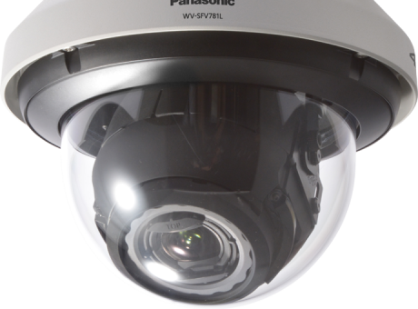 True 4K Outdoor Dome Security Network Camera WV-SFV781L