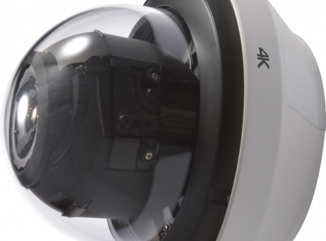 True 4K Outdoor Dome Security Network Camera WV-SFV781L vertical