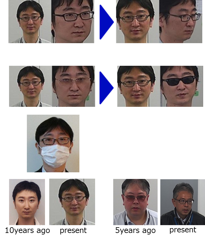 panasonic, face matching, technology, security camera
