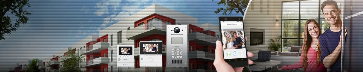 Video Intercom Multi Door System, Video Intercom, multi door surveillance, appartment complexes
