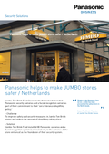 Panasonic helps to make JUMBO stores safer case-study