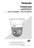 WV-SC387A, SC588A Installation Guide (English)